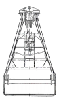 Грейфер для сыпучих грузов - 4914М