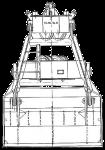 Грейфер для сыпучих грузов - КО.33