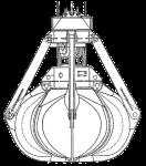 Грейфер для сыпучих грузов - КО.100 [811]