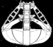 Грейфер для сыпучих грузов - КО.112-В