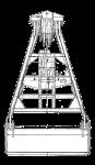 Грейфер для сыпучих грузов - 3000М