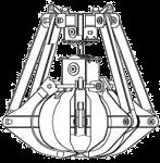 Грейфер металлоломный - КО.120