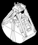 Грейфер для сыпучих грузов - КО.98-В