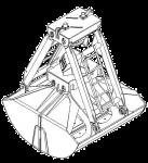 Грейфер для сыпучих грузов - КО.34