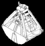 Грейфер для сыпучих грузов - КО.79-02