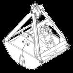 Грейфер металлургический - 4913М