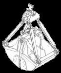 Грейфер для сыпучих грузов - КО.133